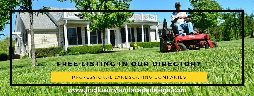list your landscaping company in our directory