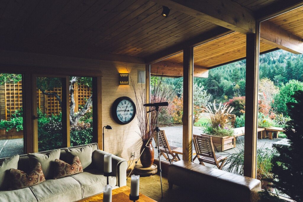 set up your outdoor living space